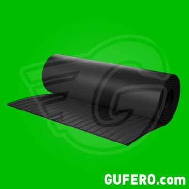 Ribbed matting