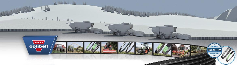 Промишлени, автомобилни, селско- стопански и специални ремъци Optibelt
